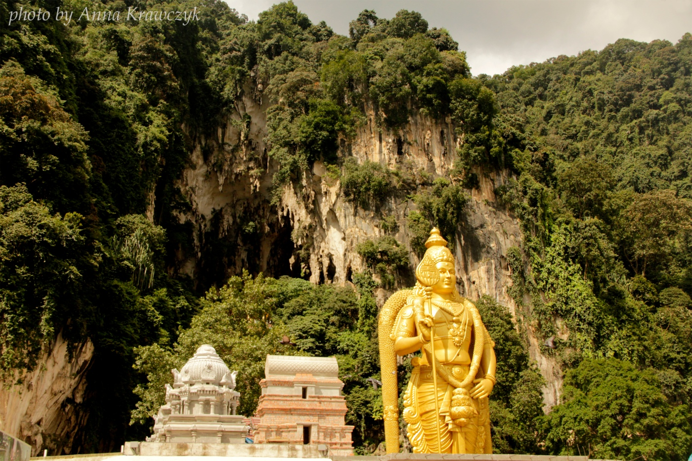 Statue of Lord Murugan - Batu Cave