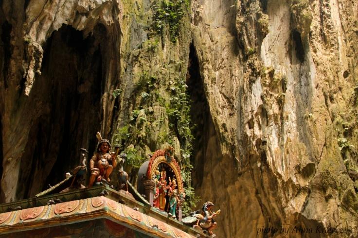Inside Batu Cave