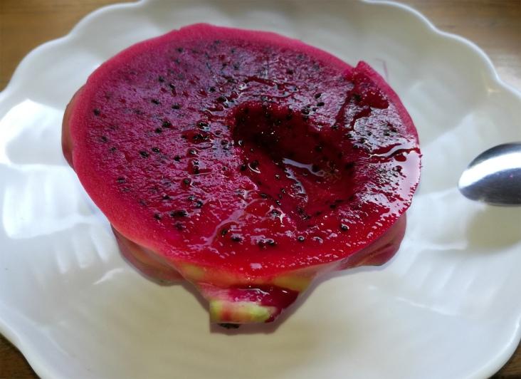Sweet & juicy dragon fruit.