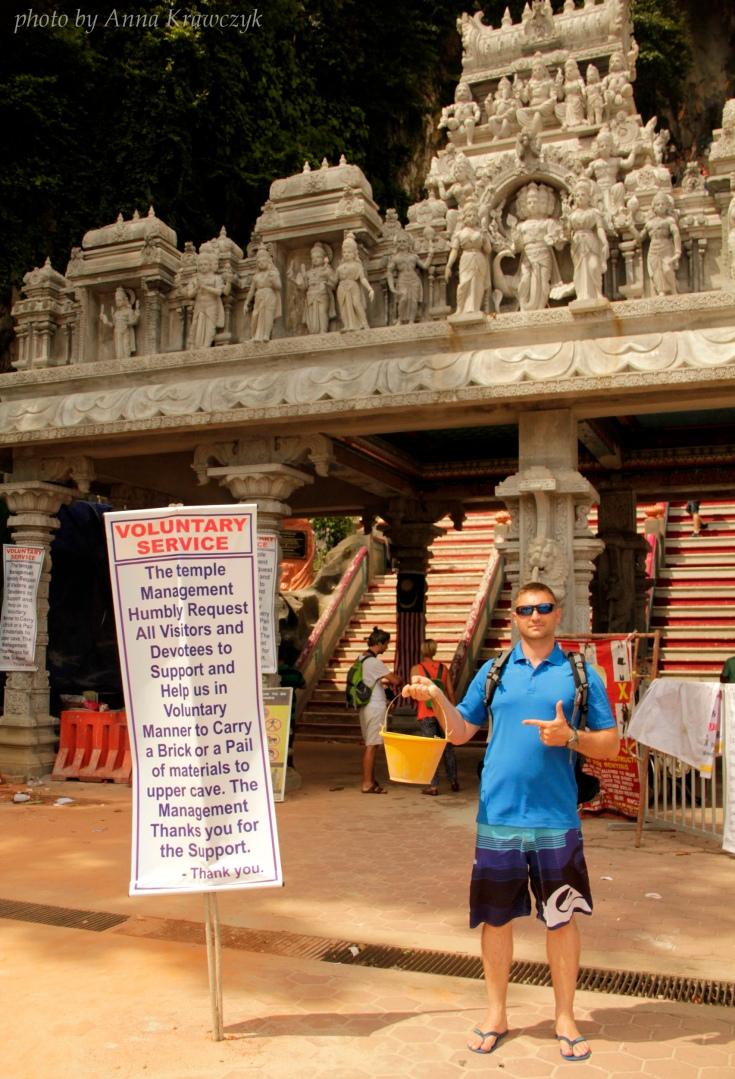 Entrance to Batu Caves
