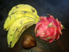 This is how real bananas look like.