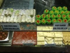 Beautiful Indian sweets.