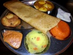 Little Thali - that means little mixed platter.