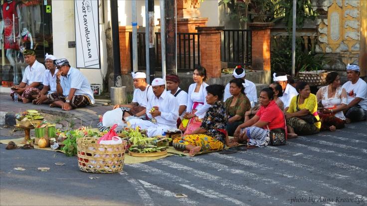 Ceremony in Sanur.
